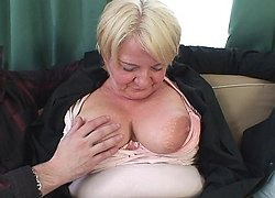 Granny does a drunken threesome and her old pussy is fucked thoroughly by their dicks