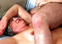 Forcefully fucked and facialized milf